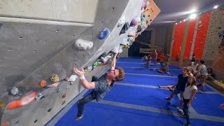 Nikken Found A V11/12 Problem That Makes Him Suffer This Bouldering Session! by Eric Karlsson Bouldering