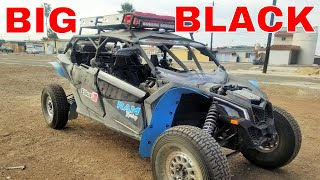 6. 2019 CAN AM MAVERICK X3  XRS  MAX  PRERUNNER  (BIG BLACK)
