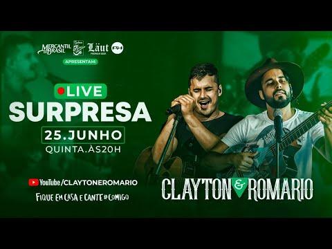 Clayton e Romário - Live Surpresa