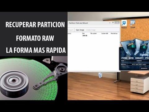 Video Recuperar info de particiones RAW - Descarga e instalacion de programa download in MP3, 3GP, MP4, WEBM, AVI, FLV January 2017