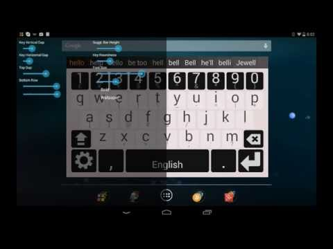 Video of Multiling Keyboard (new beta)