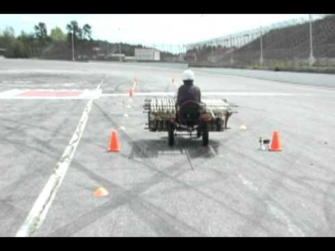 mentos - Driver on closed track. Don't try this without professional help. Exploring the limits of Coke & Mentos power, this is the new Coke Zero & Mentos Rocket Car:...