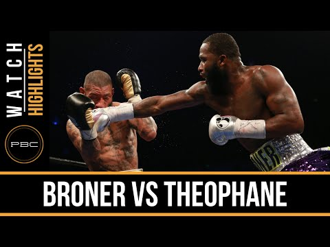 adrien broner vs ashley theophane - highlights