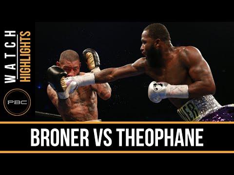 adrien broner vs ashley theophane - highlights