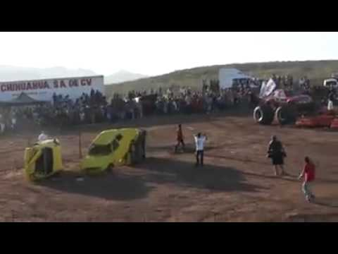 Desgracia en Chihuahua con monster truck.mp4