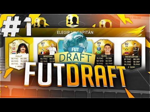 FIFA 17 | FUT DRAFT | Nový Tým!!! | #1 | CZ/SK