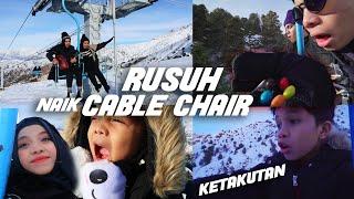 Video Di Gunung Salju Tertinggi Ber-13 Rusuh, Panik, Ketakutan, Beku Naik Kereta Gantung | Gen Halilintar MP3, 3GP, MP4, WEBM, AVI, FLV Agustus 2019