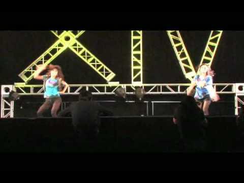 Команда Kallusive Dance Crew на VIBE 2009