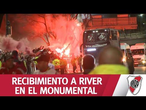 EXCLUSIVO - ¡FINALISTAS! MIRÁ LA LLEGADA DE RIVER AL MONUMENTAL