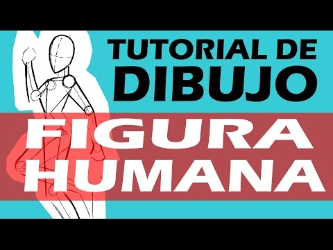 TUTORIAL DE DIBUJO 2:  FIGURA HUMANA / 2 DRAWING TUTORIAL: HUMAN FIGURE