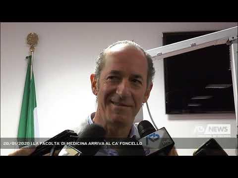 20/01/2020 | LA FACOLTA' DI MEDICINA ARRIVA AL CA' FONCELLO