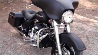 6. 2010 Harley Davidson FLHX Street Glide W/ Vance & Hines Power Duals Hi-Output slip-ons