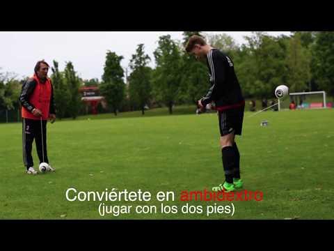 Recomendado por los jugadores profesionales de fútbol
