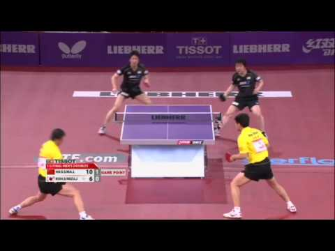 lin - Review all the highlights from the Ma Lin/Hao Shuai vs Jun Mizutani/Seiya Kishikawa Mens Doubles Semi-Finals match at the 2013 World Table Tennis Championshi...