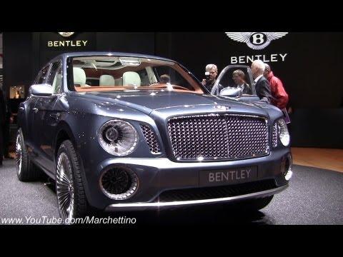 Bentley  Женевский автосалон 2012 Bentley EXP 9 F Concept SUV 2013