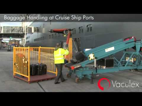 Cruise Ship &amp; Airport Baggage Handling from Materials Handling P/L  Video Image