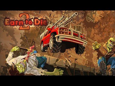 Earn to Die 2. Обзор-летсплей от Cr0n. Review