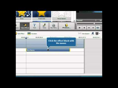 How to zoom video using AVS Video Editor?
