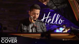 Video Hello - Lionel Richie (Boyce Avenue piano acoustic cover) on Spotify & Apple MP3, 3GP, MP4, WEBM, AVI, FLV Juli 2018