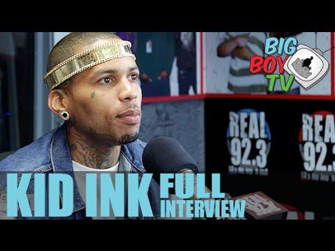 Kid Ink FULL INTERVIEW | BigBoyTV