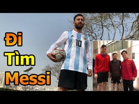 Thử Thách Bóng Đá đi tìm Lionel Messi mà Công Phượng , Đặng Văn Lâm ĐT Việt Nam gặp ở Asian Cup 2019 - Thời lượng: 10 phút.