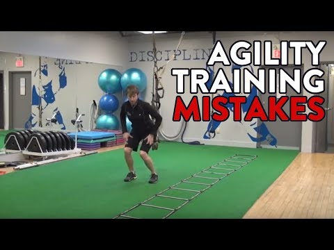 Hockey Training – Agility Training Mistakes