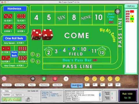 Video of My Craps Game 1280x800 Tablet