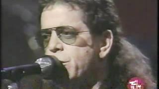 "Lou Reed - ""Busload Of Faith"" on Letterman"