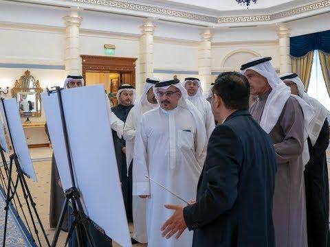 نائب جلالة الملك ولي العهد يطلع على عرضٍ خاص حول المشاريع الإسكانية بمحافظات مملكة البحرين