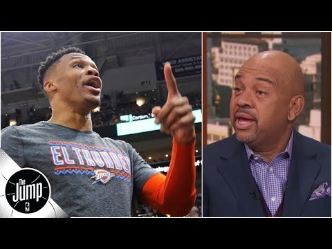 Is Utah the problem in the Russell Westbrook fan altercation?   The Jump