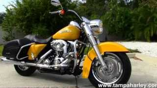 4. Used 2007 Harley Davidson FLHRS Road King Custom For Sale - Call Price Specs