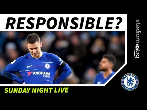 Who Was More Disappointing: Sarri Or Hazard? | Man City 6-0 Chelsea | Astro SuperSport