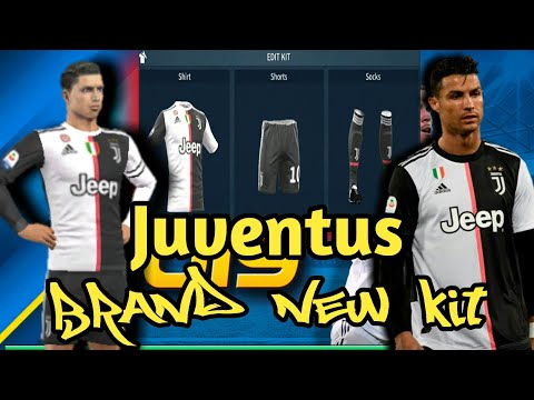 How To Import The Brand New Juventus Kit In Dream League Soccer 2019[Android & IOS]