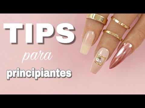 Uñas acrilicas - PRINCIPIANTES  UÑAS DE ACRÍLICO Y SOAK OFF GEL  La mano de práctica para uñas más real!!!