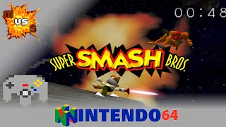 We play the Original Super Smash Bros for the first time.