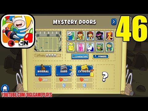 BLOONS ADVENTURE TIME TD - MYSTERY DOORS - EXTREME MODE - Gameplays 46
