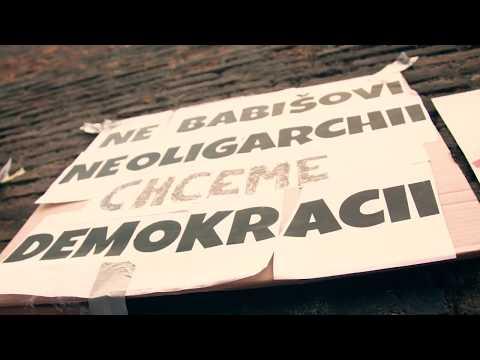 Němá demonstrace - debata s Babišem 22. 5. 2018 - Milion chvilek