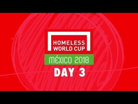 LIVE   Day 3 Homeless World Cup 2018   Pitch 1