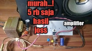 Video Amplifier murah sederhana suara joss.. MP3, 3GP, MP4, WEBM, AVI, FLV Oktober 2018