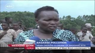 NEMA orders closure ofKakamega's  Bagasse dumpsite