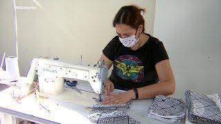 Sorocaba: voluntários se unem para produzir máscaras