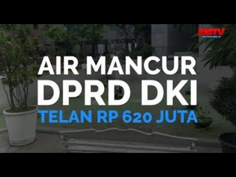Air Mancur DPRD DKI Telan Rp 620 Juta