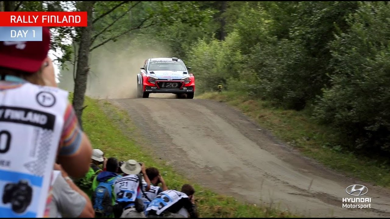 Rally Finland Day One – Hyundai Motorsport 2016