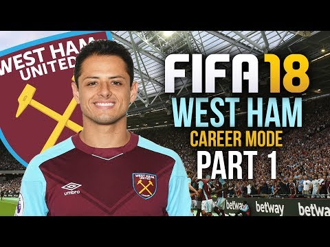 FIFA 18 West Ham Career Mode Gameplay Walkthrough Part 1 - FIRST SIGNING