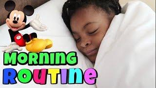 Video MORNING ROUTINE ET UNE  SUPER JOURNEE A DISNEYLAND MP3, 3GP, MP4, WEBM, AVI, FLV Oktober 2017