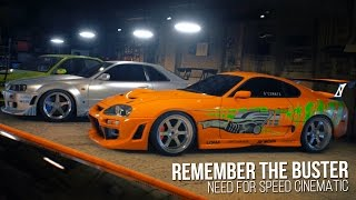 Nonton Remember The Buster | Need for Speed Cinematic - Paul Walker Tribute Film Subtitle Indonesia Streaming Movie Download