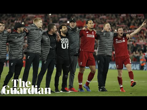 'I will remember this forever': Klopp hails Liverpool after Barça comeback