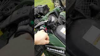 9. 2018 Kawasaki brute force 750 100hrs