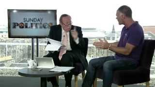 Tommy Sheridan Interviewed  About Scottish On BBC Sunday Politics
