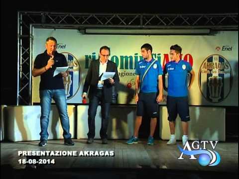 Presentazione Akragas calcio 2014